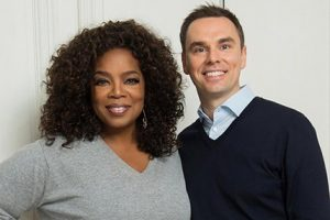 brendon burchard with Oprah