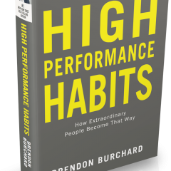 high performance habits of successful people by brendon burchard