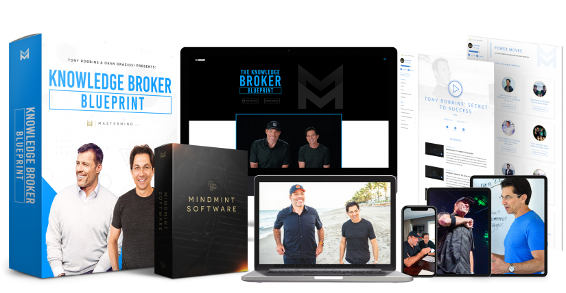 Knowledge Broker Blueprint 2.0 all products and bonuses