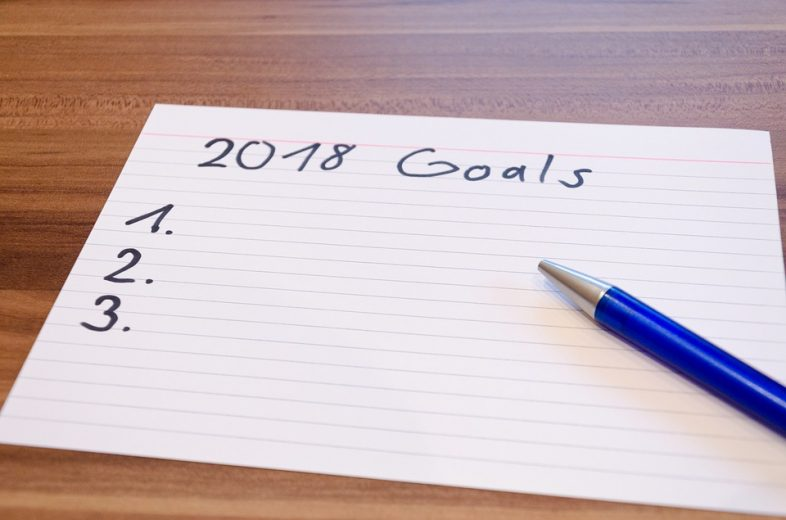 how to make goals 2018 new years resolutions