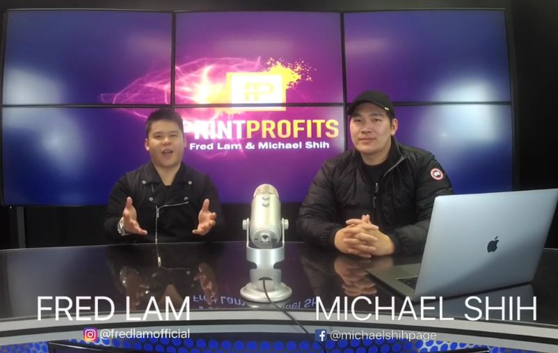 Print Profits Review Fred Lam and Michael Shih