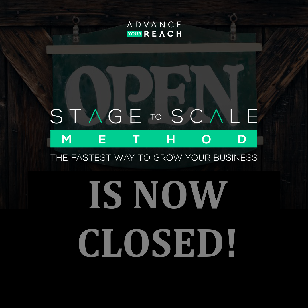 STAGE TO SCALE METHOD CLOSED