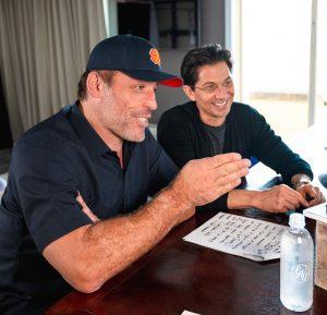 Tony Robbins and Dean Graziosi